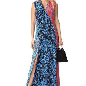 Diane Von Furstenburg Kimono style Maxi